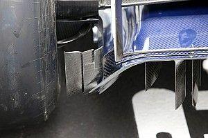 Sauber: c'è un diffusore modificato per ripulire la scia posteriore della C37