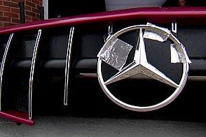 A szigszalag a DTM-ben is megoldás, avagy hullócsillag a Mercedes orrán