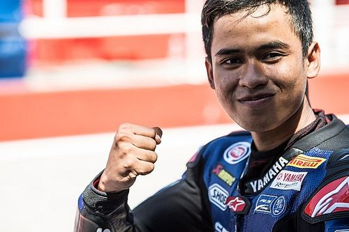 Review World Supersport 300 2018: Galang Hendra