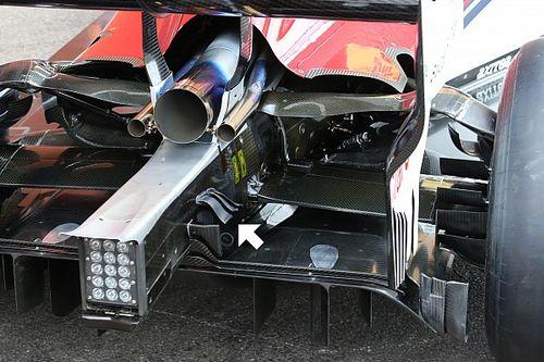 Sauber: tre mini flap per energizzare il flusso d'aria sul diffusore posteriore
