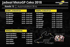 Jadwal lengkap MotoGP Ceko 2018