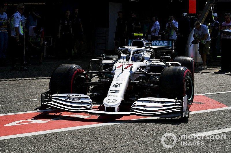 Mercedes habría sufrido sin una actualización de enfriamiento