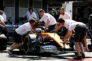 McLaren blames battery issue for Norris' Q1 exit