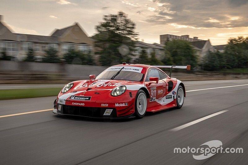 Porsche correrá con imagen de Coca-Cola en Petit Le Mans
