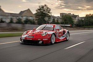 Porsche met historische Coca-Cola livery naar Petit Le Mans