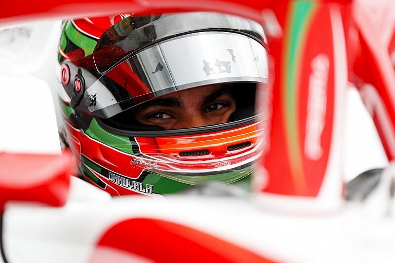 Daruvala, Red Bull'un genç sürücüsü oldu, Carlin'le F2'de yarışacak