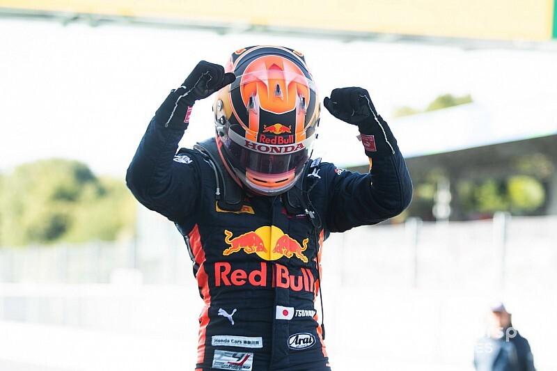 F2での1年目からトップ4を希望……レッドブル、角田裕毅にかける期待
