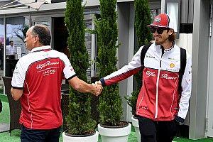 Giovinazzi i Alfa Romeo kontynuują współpracę