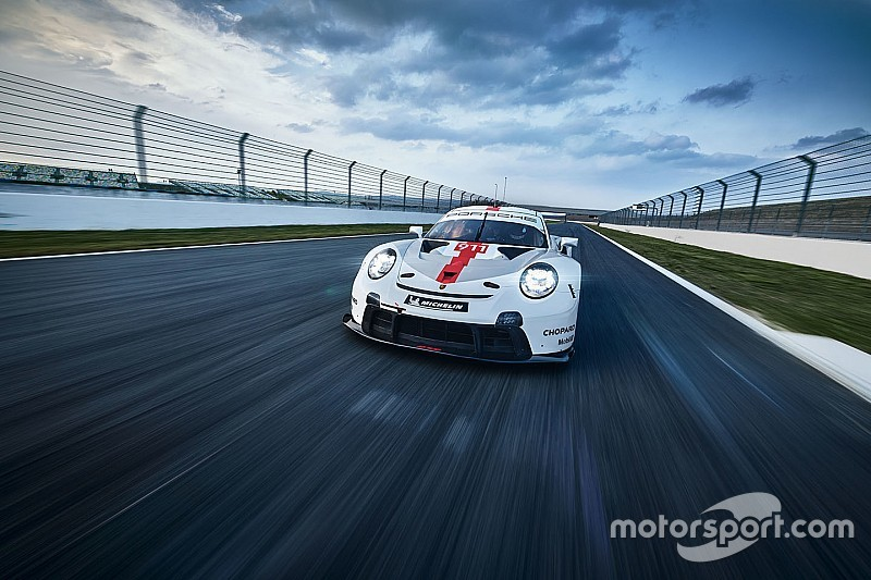 Porsche unveils revised 911 RSR for WEC, IMSA