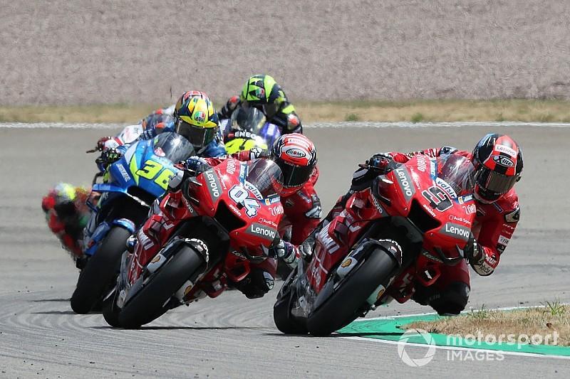 Petrucci : On ne s'économise pas, on est à la limite de la Ducati