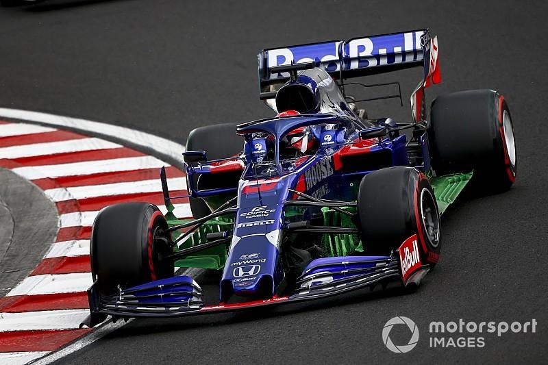 Квят посвятил пятницу на «Хунгароринге» работе с новинками Toro Rosso