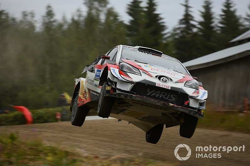Finland WRC: Meeke retires with broken suspension