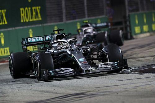 """El """"cabreo"""" de Mercedes por su mal GP de Singapur"""
