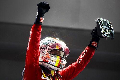 """Vettel: """"No estaba siendo tan desastroso como la gente decía"""""""