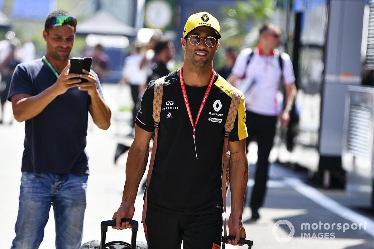 Ricciardo újabb trollkodása, ezúttal a Hungaroringen: videó