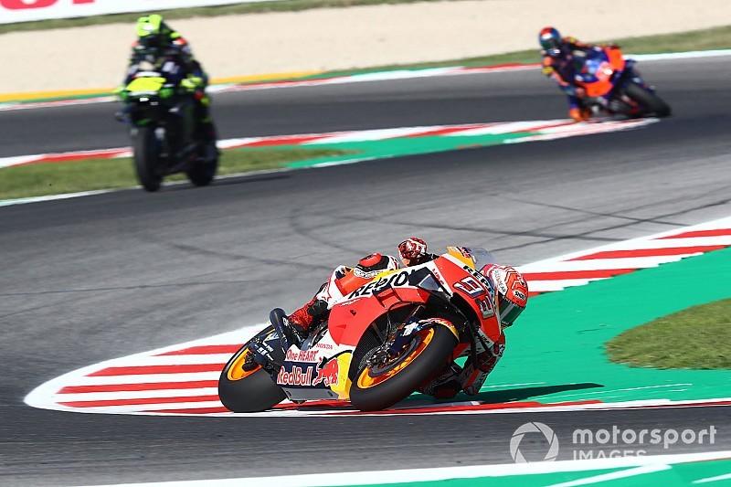 Marquez questiona intenção de Rossi em desentendimento na pista em San Marino