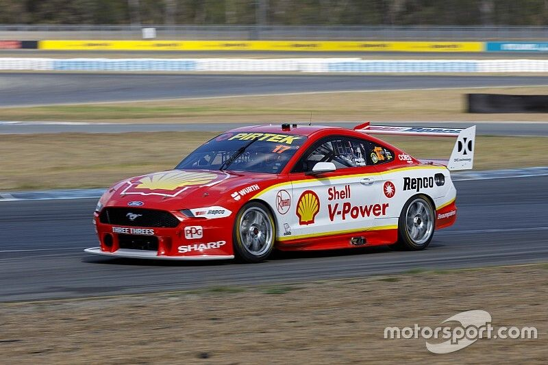 McLaughlin, Premat satisfied despite testing crash