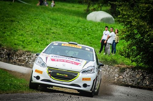 Straffi campione Peugeot Competition 208 Rally PRO