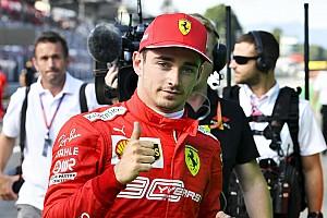 Leclerc é o líder do campeonato 'pós-férias' da Fórmula 1 em 2019