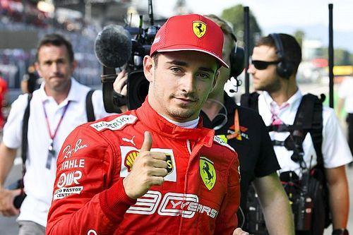 """Leclerc lamenta bagunça no fim da classificação: """"Uma pena"""""""