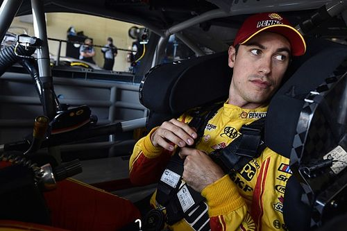 Team Penske runs dry at Michigan, spoiling strong day