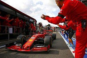 Fotogallery F1: la Ferrari torna a vincere a Spa con Leclerc