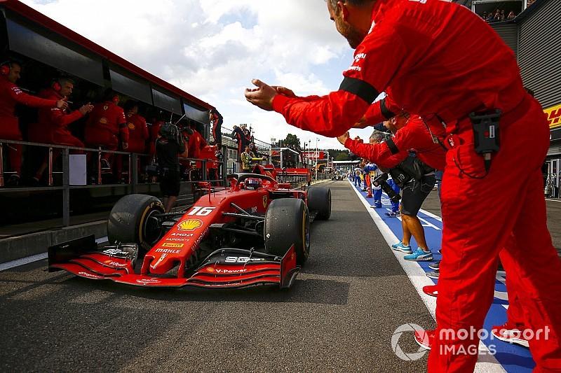 Leclerc, el ganador más joven de la historia de Ferrari
