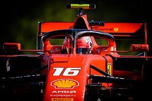 Leclerc lidera la FP3 y Hamiton choca