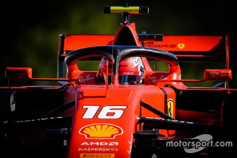 Accidente de Hamilton y liderato de Ferrari en la FP3 de Bélgica