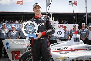 Mid-Ohio IndyCar: Power beats Rossi for 57th career pole