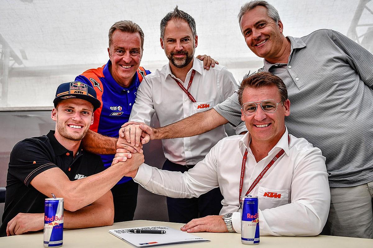 Brad Binder correrà in MotoGP dal 2020 con il team KTM Tech 3