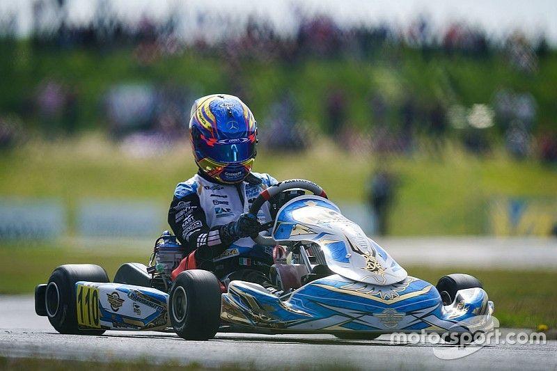 Travisanutto wins European karting title, Amand junior champion