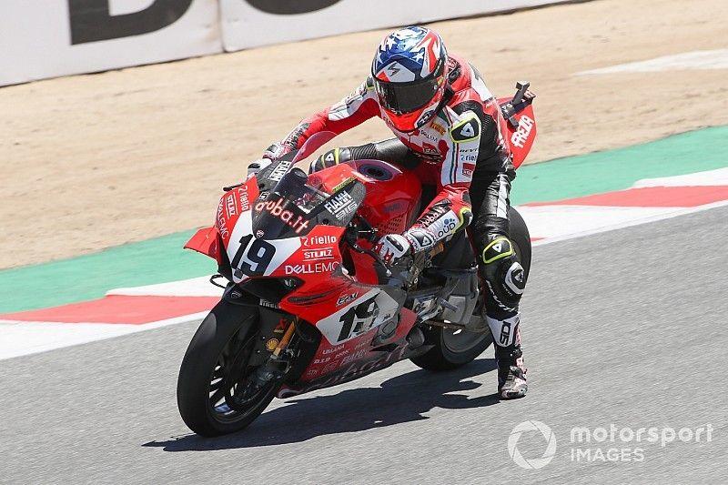 """Bautista: """"Honda está viniendo muy fuerte, pero la intención es seguir en Ducati"""""""