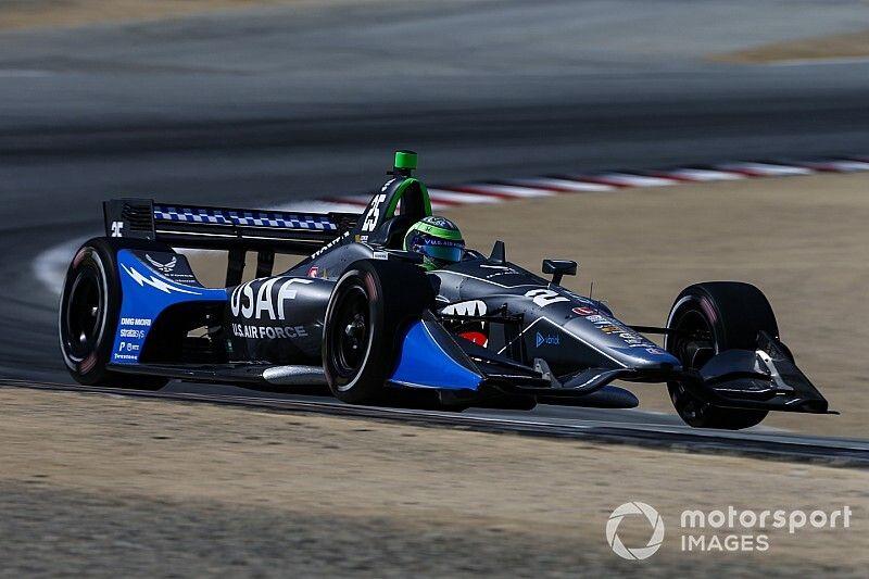 Ed Carpenter Racing signs Daly, US Air Force