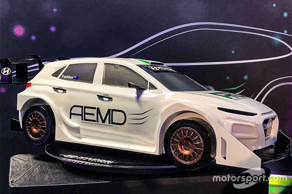 Se presenta el primer coche de rallies eléctrico