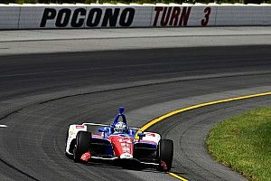 Pocono IndyCar: Kanaan tops long practice session