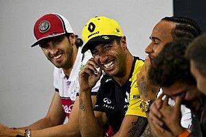 """Ricciardo: """"Még mindig jól nézek ki..."""""""
