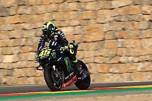 Rossi en Viñales verdeeld over effect van updates