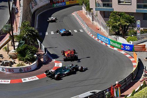 La parrilla de salida del GP de Mónaco 2021 de Fórmula 1