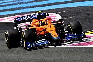 F1フランスGP決勝で絶好調のランド・ノリス困惑「土曜日に苦労して、決勝で良かった理由が分からない」