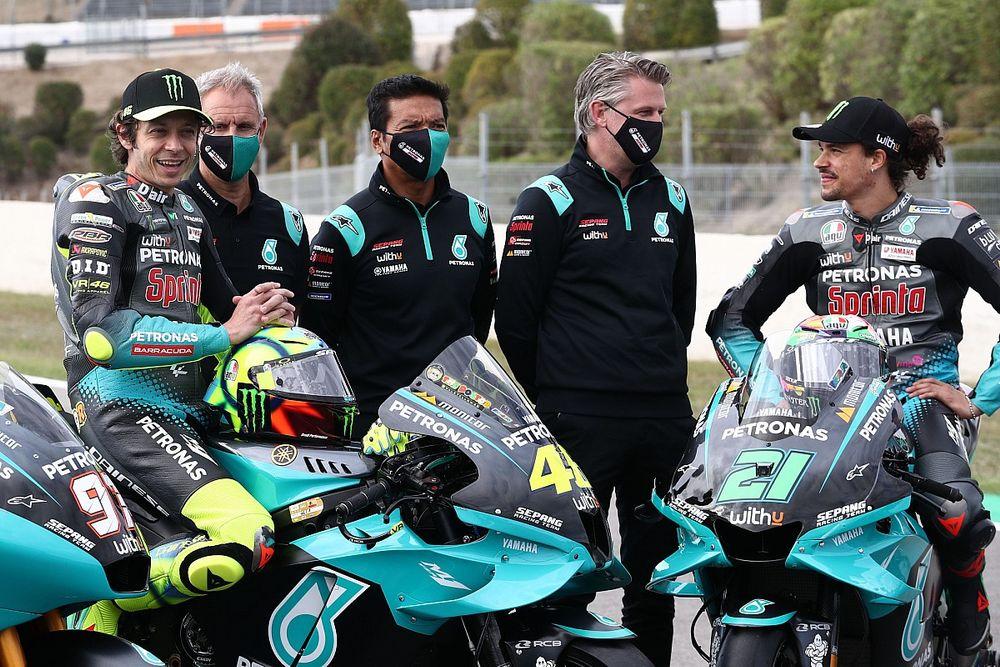 """Petronas: """"Queremos seguir con Yamaha, pero VR46 también está interesado"""""""