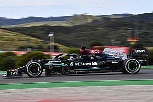 Portuguese GP: Hamilton tops FP2 from Verstappen