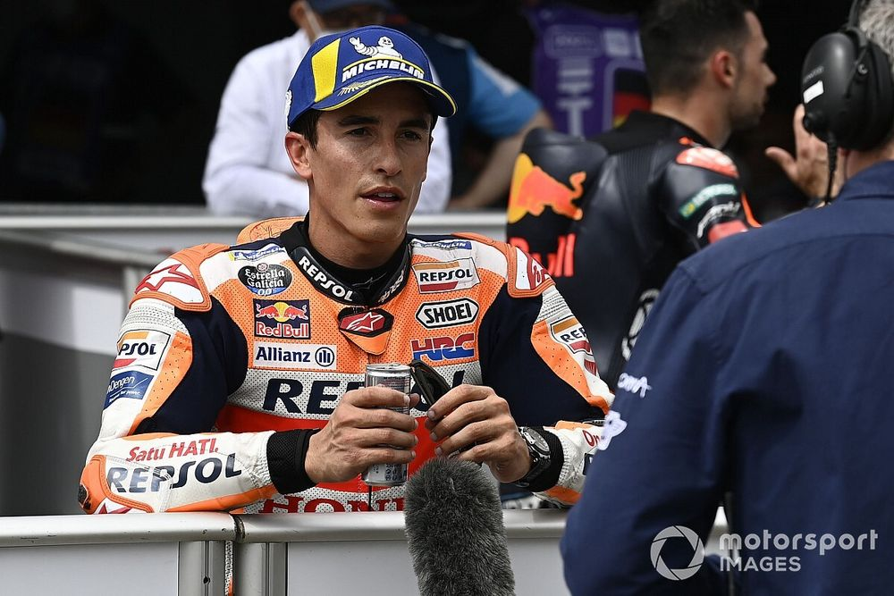 """Márquez: """"No me siento con la responsabilidad de tomar el relevo de Rossi"""""""