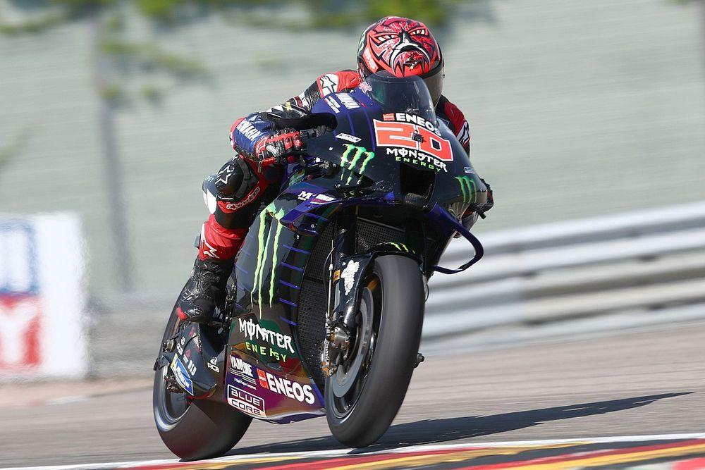 MotoGPドイツFP3:トップタイムはクアルタラロ。ホンダ最上位7番手に中上貴晶、マルケス9番手