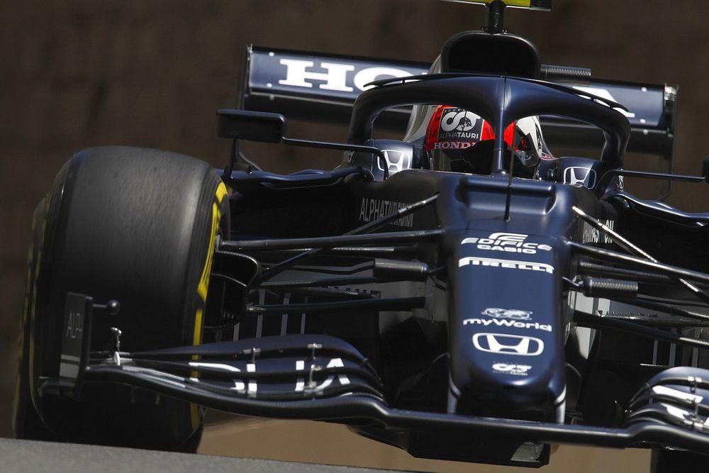 F1アゼルバイジャンFP3:親牛を下しアルファタウリ・ホンダのガスリーがトップタイム、チームメイトの角田は8番手
