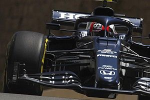 Azerbaijan GP: Gasly tops FP3 as Verstappen crashes