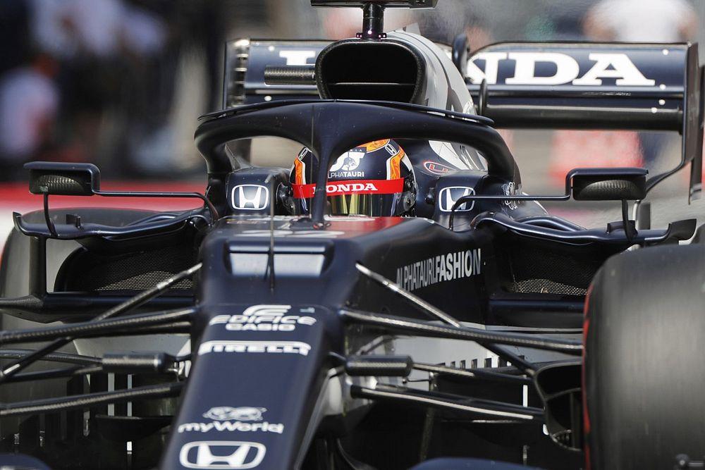 F1イギリスFP1速報:フェルスタッペンが首位発進。角田裕毅は12番手