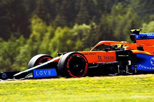 """Norris, Avusturya GP'de ön sırada olmak için """"birkaç risk almış"""""""