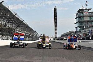 VIDEO: De volledige startopstelling voor de 105de Indianapolis 500