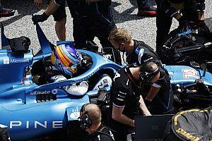 Alpine F1 elogia a Alonso por no buscar culpables ni excusas